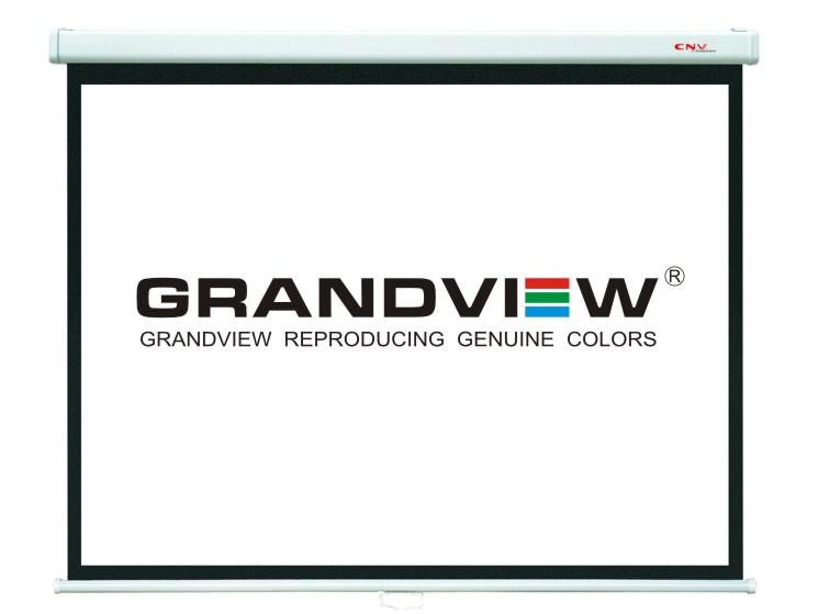 Projekční plátna CNV - manuální